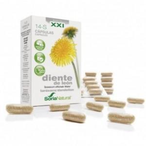 Diente de León 14-S 690 mg 30 Cápsulas Soria...