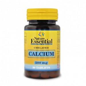 Calcio Quelado 500 mg. 50 comprimidos Nature...