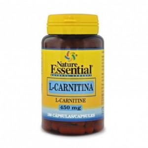L-Carnitina 450 mg. 100 capsulas Nature Essential