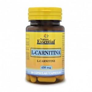 L-Carnitina 450 mg. 50 capsulas Nature Essential