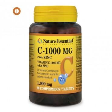 Vitamina C 1000 mg. y Zinc...
