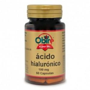 Acido Hialuronico 100 mg. 60 capsulas Obire