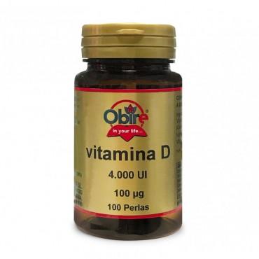 Vitamina D3 100 mcg. 4000...