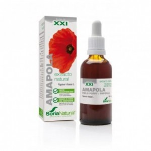 Extracto Amapola XXI 50 ml Soria Natural