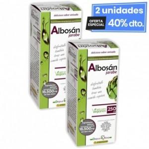 2 Envases de Albosan 250 Ml Pinisan