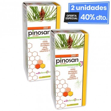 2 Envases de Pinosan Jarabe...