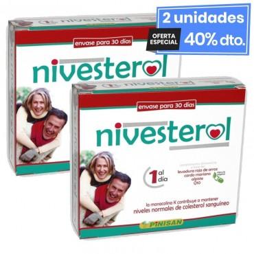 2 Envases de Nivesterol 30...