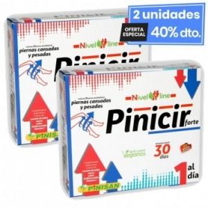 2 Envases de Pinicir Forte 30 Cápsulas Pinisan