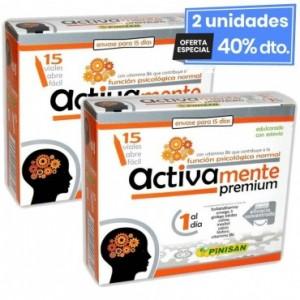 2 Envases de Activamente Premium 15 Viales Pinisan