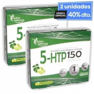 2 Envases de 5-Htp 150 30 Cápsulas Pinisan