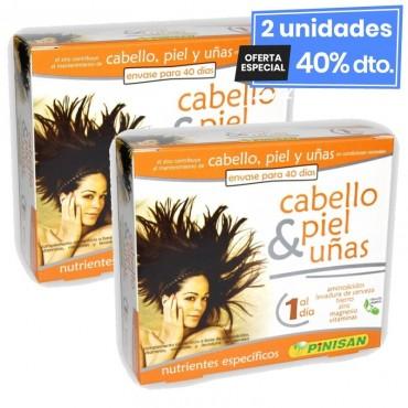 2 Envases de Cabello Piel Y...