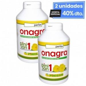 2 Envases de Aceite De Onagra 500 Mg 400 Perlas...