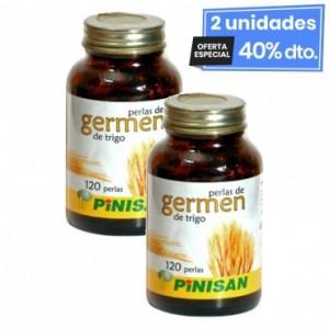2 Envases de Aceite Germen De Trigo 500 Mg 120...