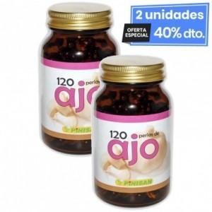 2 Envases de Aceite De Ajo 500 Mg 120 Perlas...