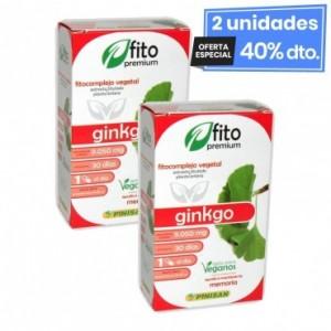 2 Envases de Ginkgo Fito Premium 9.050 Mg 30...