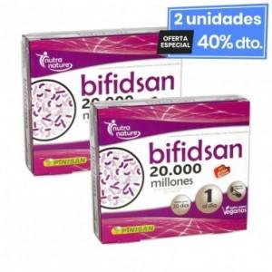 2 Envases de Bifidsan 20 Cápsulas Pinisan