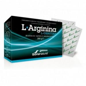 L-Arginina + L-Ornitina 10 gr 28 Unidades Soria...