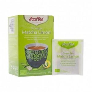 Infusion Te Verde Matcha Limón 17 Filtros Yogi Tea