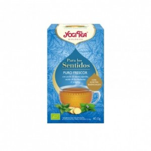 Para Los Sentidos Puro Frescor 20 Filtros Yogi Tea