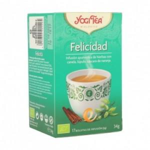 Infusion Felicidad 17 Filtros Yogi Tea
