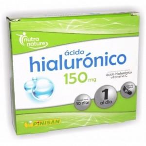 Ácido Hialurónico 150 Mg 30 Cápsulas Pinisan