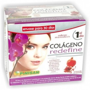 Colágeno Redefine 30 Sobres Pinisan