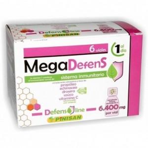 Megadefens 6400 Mg 6 Viales Pinisan