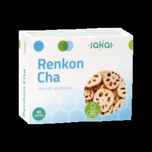 Renkon-Cha - Raiz De Loto - 60 Cápsulas Sakai
