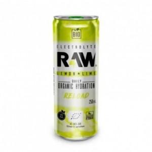 Raw Bio Refresco Sin Gas Reload 250 ml Lima Limón