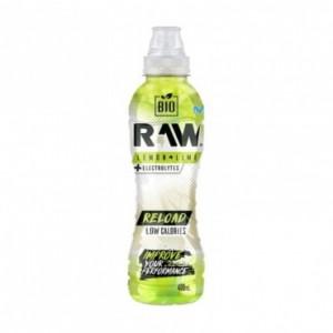 Raw Bio Refresco Sin Gas Reload 400 ml Lima Limón