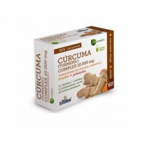 Cúrcuma Complex 10000 mg. 60 capsulas Nature...