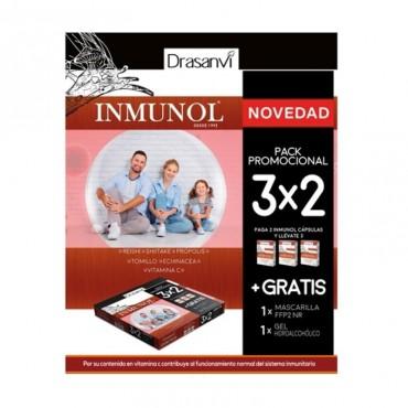 Pack Inmunol 36 capsulas...